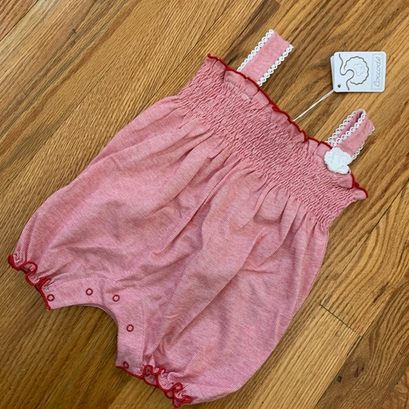 NWT Coccode Baby Girl Romper 6 months